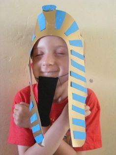 Egypt - Pharaoh's headdress craft
