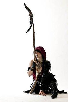 Morrigan cosplay by Jenifer Vinson
