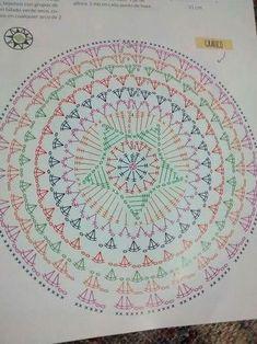Most recent Pic Crochet Doilies flower Suggestions Best 12 Tinas Handwerk: 82 Designs und Muster Dreamcatcher & Mandala Motif Mandala Crochet, Crochet Circles, Crochet Motifs, Crochet Diagram, Crochet Stitches Patterns, Doily Patterns, Crochet Round, Crochet Chart, Crochet Squares