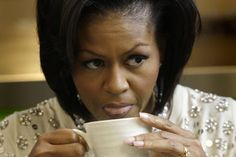 Look who's doin' tea: tea time with First Lady Michelle Obama