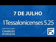 Voltemos Ao Evangelho | 7 de julho – Devocional Diário CHARLES SPURGEON