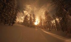 Chiomonte. Da Pian del Frais a Pian Mesdì #myValsusa 15.01.18 #fotodelgiorno di Dante Alpe