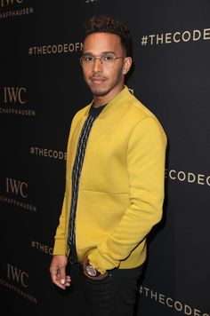 Lewis Hamilton at the IWC SIHH booth on January 17, 2017 in Geneva wearing the IWC Portugieser Perpetual Calendar. (Photo by Chris Jackson/Getty Images for IWC). Follow @IWCStyleJournal on Instagram for more great content.