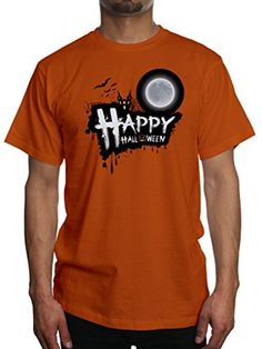 Young Motto Men's Happy Halloween Party T-Shirt - Brought to you by Avarsha.com