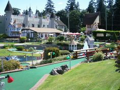 Check out Paradise Fun Park, Parksville BC, for bumper boats and two awesome Mini Golf Courses - Sisters and niece stopped in here, got wet and refreshed. Victoria Bc Canada, Next Holiday, Getting Wet, Vancouver Island, British Columbia, Wilderness, Travel Photos, Golf Courses, Places To Go