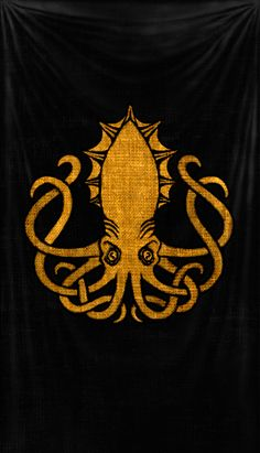 greyjoy kraken octopus game of thrones Kraken Tattoo, Kraken Art, Squid Tattoo, Octopus Tattoos, Octopus Art, Dark Fantasy, Upper Back Tattoos, Geniale Tattoos, Mermaids And Mermen