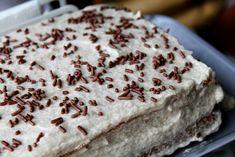 kávový koláč Torte Cake, Food Styling, Food And Drink, Bread, Ethnic Recipes, Brot, Baking, Breads, Buns