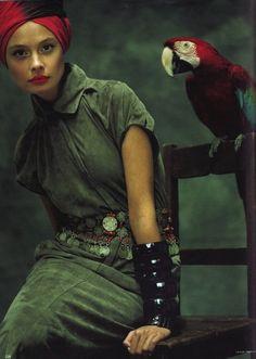 Inguna Butane by Koto Bolofo for German Vogue
