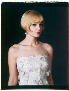 the vintage wedding - best wedding dresses - great-gatsby-carey-mulligan vaniti, wedding dressses, vintage weddings, vanity fair, carey mulligan, jazz age, daisies, careymulligan, hair