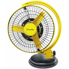 Yellow Everyday It Is The Best Table Fan In Not Ordinary Style