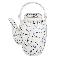 Buy John Lewis Blue and White Teapot Online at johnlewis.com