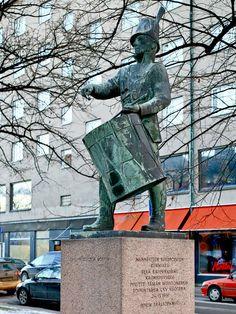 Rumpalipatsas, Pori; Itäpuisto Kauko Räike 1961. — paikassa Pori./kuva:Jorma Lindqvisthttps://www.facebook.com/photo.php?fbid=10152025221552980