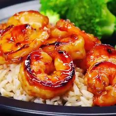 17 Day Diet, Cooking Recipes, Healthy Recipes, Plate, Risotto, Shrimp, Seafood, Dinner Recipes, Tasty