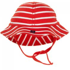 signature stripe newborn sunhat