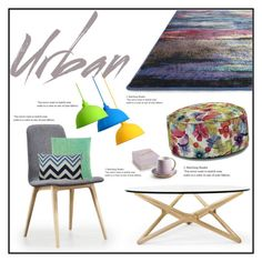 """Urban decor"" by budding-designer ❤ liked on Polyvore featuring interior, interiors, interior design, home, home decor, interior decorating and Zuzunaga"