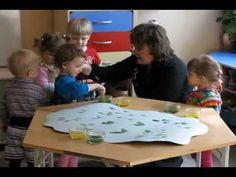 Занятие по рисованию 1 в детском саду №177 Винни-Пух