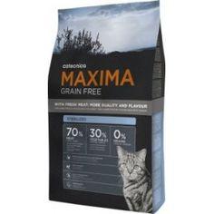 MAXIMA GRAIN FREE Cat | Sterilized. Los gatos esterilizados presentan una tendencia natural al sobrepeso. Compra online en www.zazbuy.com. ENVIAMOS GRATIS Y SIN ADUANAS a domicilio a Las Palmas de Gran Canaria, Tenerife, La Palma, La Gomera, Fuerteventura, Lanzarote. #gatos #cats #mascotas #pets #piensosparagatos #maxima