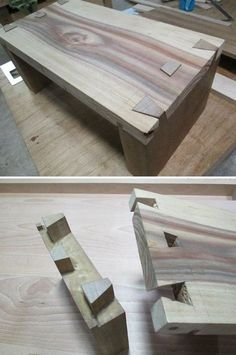 Wood Profits - We discovered some incredibly simple jobs with lots of look that you may create hardly any price. Discover How You Can Start A Woodworking Business From Home Easily in 7 Days With NO Capital Needed! Woodworking Joints, Woodworking Techniques, Woodworking Plans, Woodworking Projects, Woodworking Organization, Woodworking Beginner, Diy Wood Projects, Furniture Projects, Wood Furniture