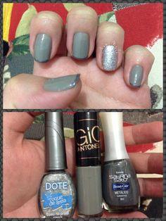 Cinza e prata toque de areia, lindos!