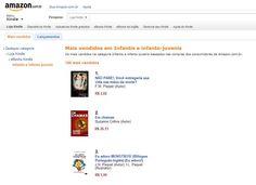 """Querem começar a semana com uma boa notícia? O livro """"Eu adoro Monstros"""", escrito por J.N. PAQUET e ilustrado pela sua filha aos 4 anos de idade, é o livro infantil MAIS VENDIDO na Amazon Brasil (os outros dois são infanto-juvenis). Ainda está em segundo lugar no ranking da categoria """"Ensino e aprendizado de línguas"""". Já comprou o seu? Então, mande-nos um comentário dizendo o que achou do livro e por que não deixar um comentário lá no site da Amazon?!   http://j.mp/EuAdoroMonstrosBrasil"""