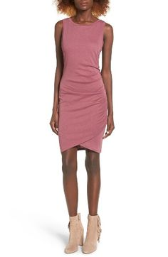 Free shipping and returns on Leith Ruched Body-Con Tank Dress at Nordstrom.com. Gentle ruching at one side adds soft texture to a slinky tulip-hem tank dress.
