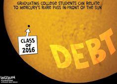 Class of 2016 to graduate with an average $37,172 in debt.Contact Don Landgren Jr. at donald.landgren@telegram.com. Follow him on Twitter @LandgrenTToons