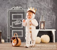 Baby Where The Wild Things Are Max Costume | Pottery Barn Kids OMG! Want to buy this for Owen so bad!!