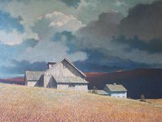 """Autumn Clouds"" Art Contrarian: Eric Sloane: Illustrator of Rural America"