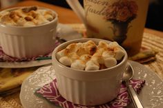 How about S'mores...yes individual and perfect for even your most special dinner guest!