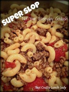 Super Slop - Easy 3 Ingredient Meal #3ingredients