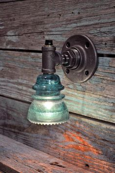 30 Delicate Projects That Repurpose Old Glass Insulators | Do it yourself ideas and projects