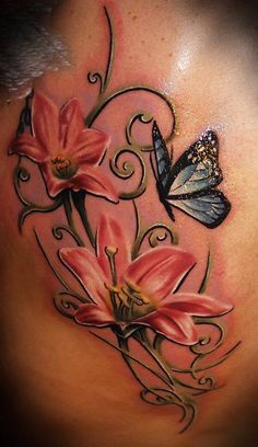 Lily n butterfly