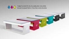 TABATA et LOLA : des tables tactiles, designées et fabriquées en France | Relations Publiques . Pro