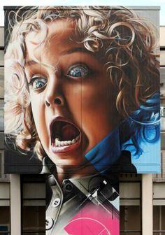 Hyper Realistic Street Art by SMUG