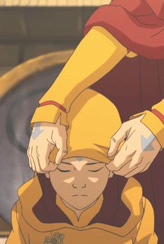 Jinora becoming a master. TEARBENDING. SHE LOOKS LIKE AANG. IT'S HITTING ME RIGHT IN THE CHILDHOOD FEELS