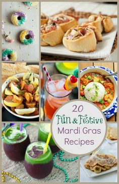 Happy Mardi Gras! Take the guess work out of planning your party with these 20 Fun