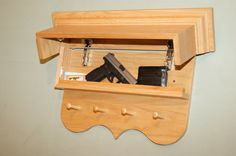 under stair compartments | This shelf tilts up to reveal a hidden compartment inside. – Source ...
