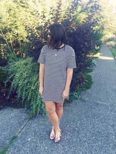 tater and tot: yet another tee shirt dress.