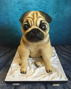 Doug the pug cake by Meme's Cakes