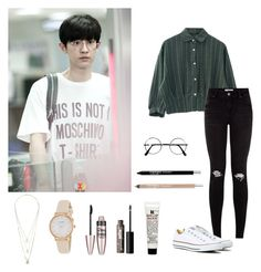 """""""Requested: EXO's Chanyeol- Ice Cream Date"""" by dropletsofkaisoo on Polyvore"""