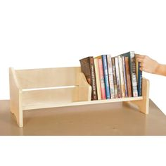 Looking for Guidecraft Tabletop Book Browser Set ? Check out our picks for the Guidecraft Tabletop Book Browser Set from the popular stores - all in one. Book Organization, Book Storage, Kids Storage, Storage Shelves, Game Storage, Organizing, Classroom Furniture, School Furniture, Furniture Online