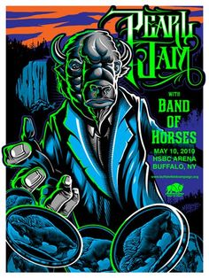 Life Is A Mixtape: Pearl Jam Tour Posters Buffalo. A friend recently gifted me with this. Tour Posters, Band Posters, Music Posters, Event Posters, Festival Posters, Concert Posters, Pearl Jam Posters, Band Of Horses, Pearl Jam Eddie Vedder