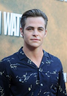 Chris Pine arrives at the screening of CBS Films' 'Hell Or High Water' at ArcLight Hollywood on August 10 2016 in Hollywood California
