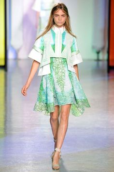 SPRING 2014 RTW PETER PILOTTO COLLECTION