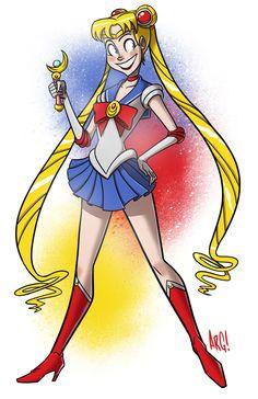 Sailor+Moon+by+IAMARG.deviantart.com+on+@deviantART