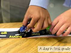 LOVE this idea for practicing sight words!