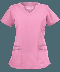 UA Butter Soft Women's Scallop Neck Top at Uniform Advantage; Quality Women's Neck Tops are made for medical & hospital staff. Medical Uniforms, Hospital Uniforms, Nursing Uniforms, Scrubs Outfit, Scrubs Uniform, Dental Scrubs, Uniform Advantage, Phlebotomy, Womens Scrubs