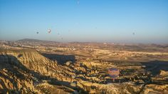 Zbor cu balonul în Cappadochia, Turcia (hot air baloon flight over Cappa...