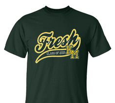High School Impressions FRS-009-w; Custom Freshmen Underclass Tees - Create your own design for t-shirts, hoodies, sweatshirts. Choose your Text, Ink and Garment Colors