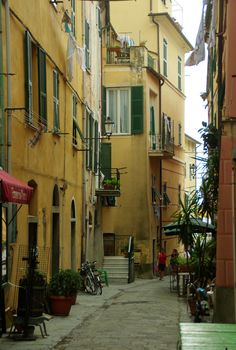 Monterosso al Mare (Cinque Terre/Ligurie/Italie) There's the bicycle!